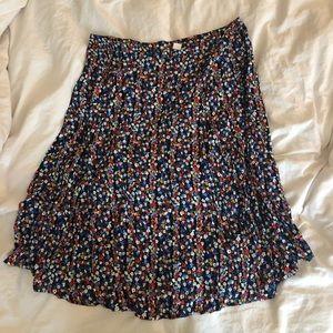 GAP midi floral skirt